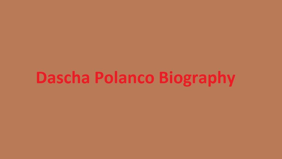 Dascha Polanco Husband