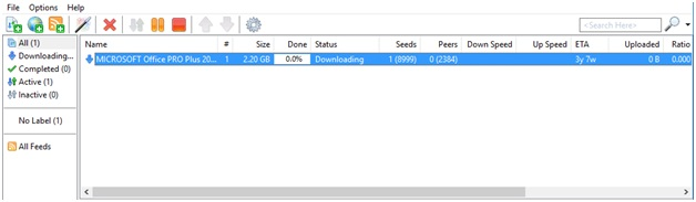 torrent downloading