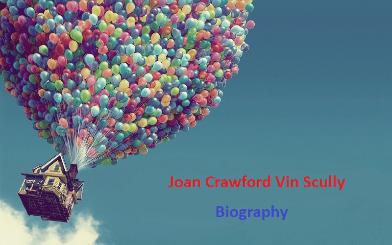 Joan Crawford Vin Scully